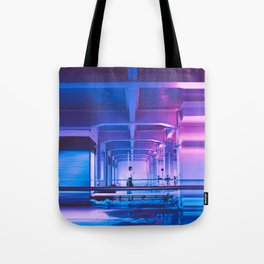 Glitchy Dreams Of You Tote Bag
