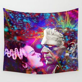 Frankenstein`s Bride Wall Tapestry