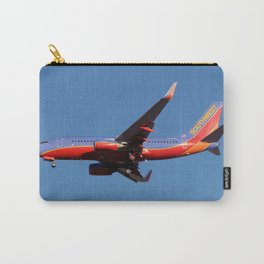 Southwest 737-700 landing Carry-All Pouch