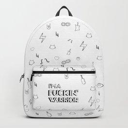 Fuckin warrior Backpack