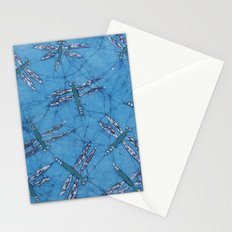 Batik Dragonflies Stationery Cards