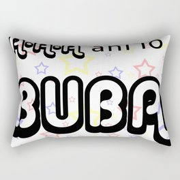 A A A Ani lo Buba Rectangular Pillow