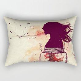 the scream jar Rectangular Pillow
