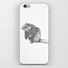 The Chipmunk- Feathered iPhone & iPod Skin