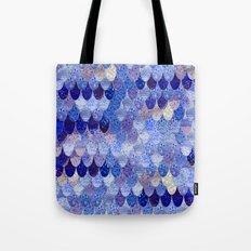 SUMMER MERMAID ROYAL BLUE Tote Bag