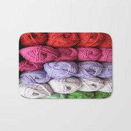 Knitting Yarn Bath Mat