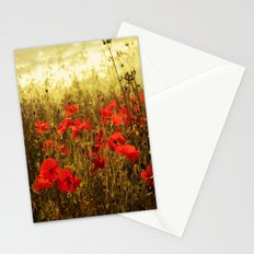 Poppy Glow Stationery Cards