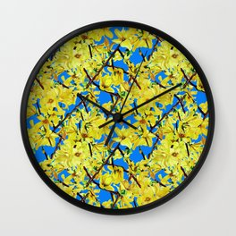 Springtime for Isabella Wall Clock