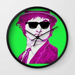 Jake Blues 2 Wall Clock