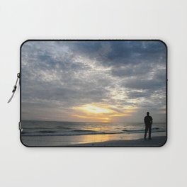 Walk into the sunset.. Laptop Sleeve