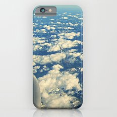 flying over mountain tops iPhone 6s Slim Case