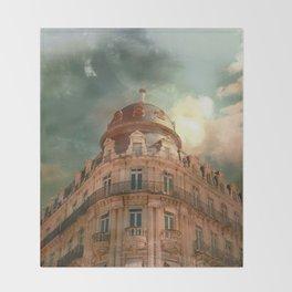 Montpellier  - France Throw Blanket