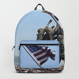 Iwo Jima Color Backpack