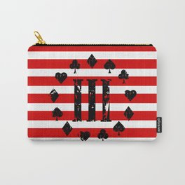 Three Percenter Aces USA Flag Carry-All Pouch
