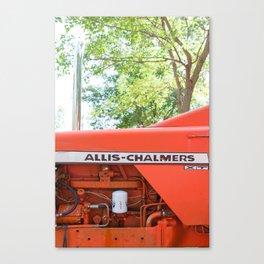 Allis - Chalmers Vintage Tractor Canvas Print