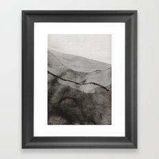Ink Layers Framed Art Print