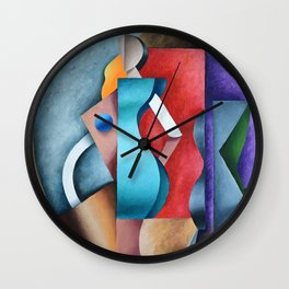 Segmentation Wall Clock