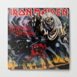 IRON MAIDEN Metal Print