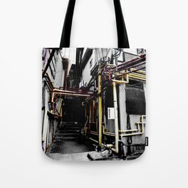 Village Back Street Tote Bag