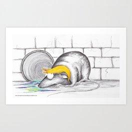 King Rat - To The Mattresses Art Print