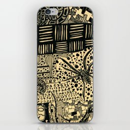 cob web iPhone Skin