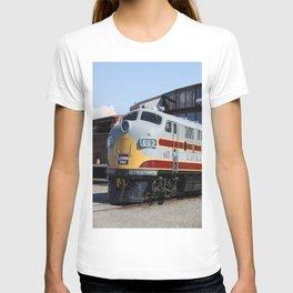 Engine 664 Lakawanna Railroad T-shirt