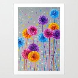 Decorative bow Art Print