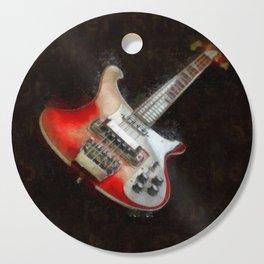 Rick and Famous - My 4003 Rickenbacker Basss Cutting Board