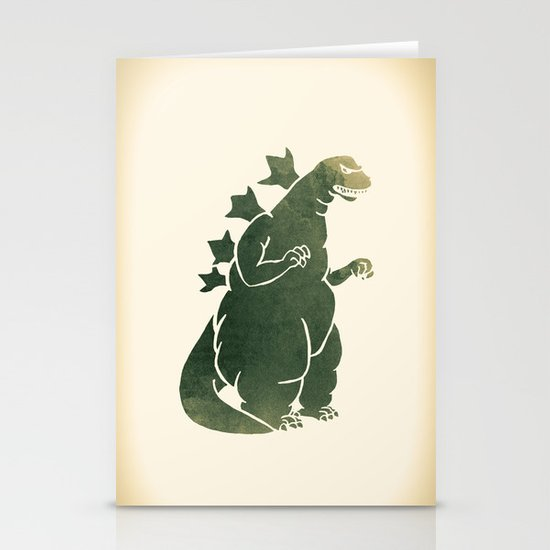 Godzilla - King of the Monsters Stationery Cards
