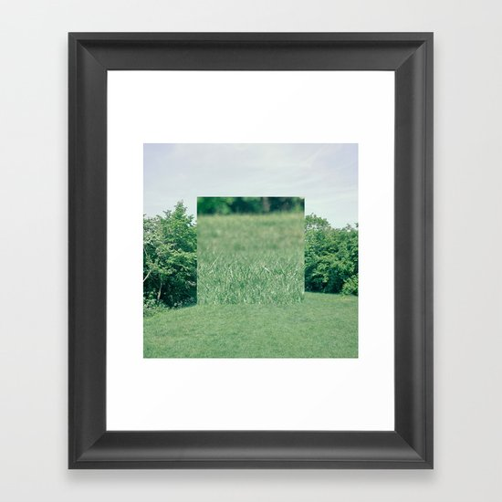 Fokus Objekt Abstand n°2 Framed Art Print