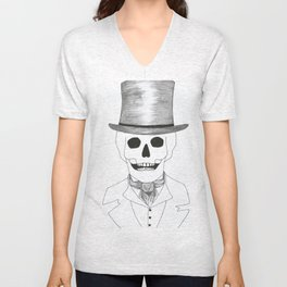Skull Dandy Unisex V-Neck