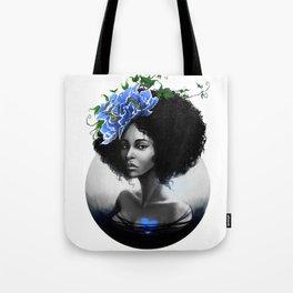 Blossom Afro Tote Bag