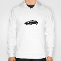 porsche Hoodies featuring Porsche 356 by graphic small things
