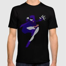 Raven Mens Fitted Tee SMALL Black