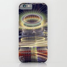 The Tower, Surrealistic mixed media art iPhone 6s Slim Case