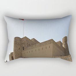 Omani Fort 2 Rectangular Pillow