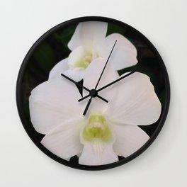 Ascocenda Wall Clock