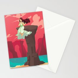 The Flutist Stationery Cards