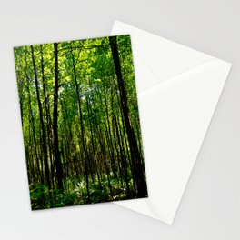 Green breeze Stationery Cards