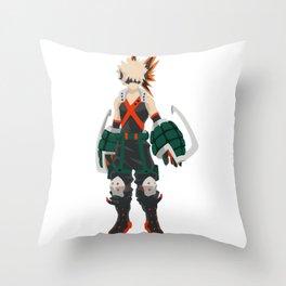 Boku no Hero - Bakugou Throw Pillow