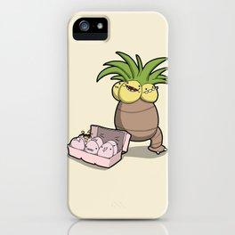 Pokémon - Number  102 & 103 iPhone Case