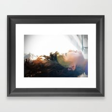 In the sun Framed Art Print
