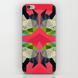 TRIPPY PARROT iPhone Skin