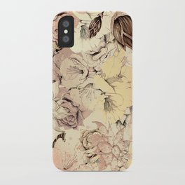 pattern Flowers iPhone Case
