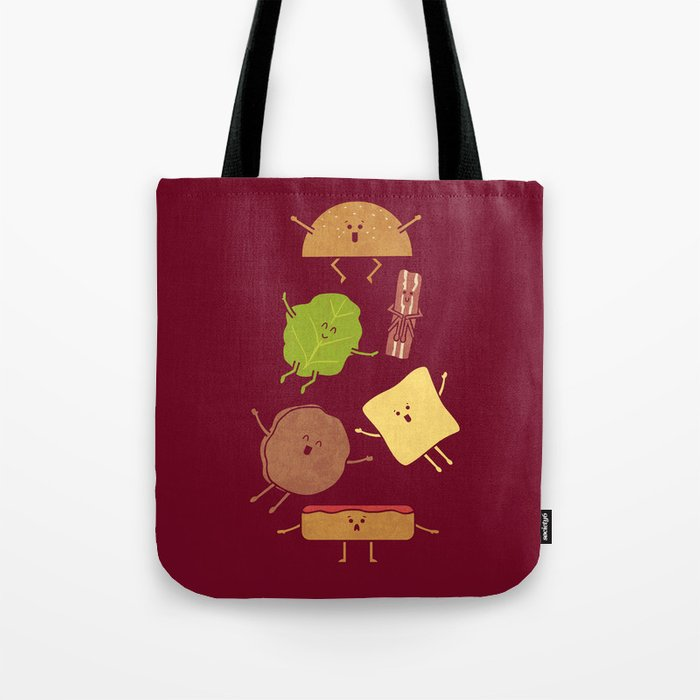 Pile On Tote Bag