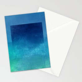 Square Composition IV Stationery Cards