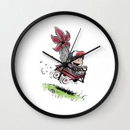 Strange Things Dustin and Demo Wall Clock