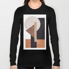 Abstract Geometric Art 10 Long Sleeve T-shirt