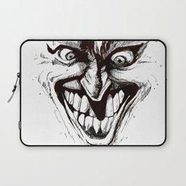"""Turn that Smile Upsidedown"" Laptop Sleeve"