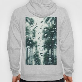 Palm Trees Background Blur  Hoody
